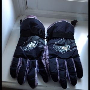 Philadelphia Eagles winter lined gloves